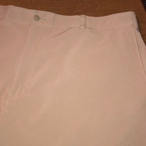 Khaki Ben Hogan Flat Front Dress Golf Shorts